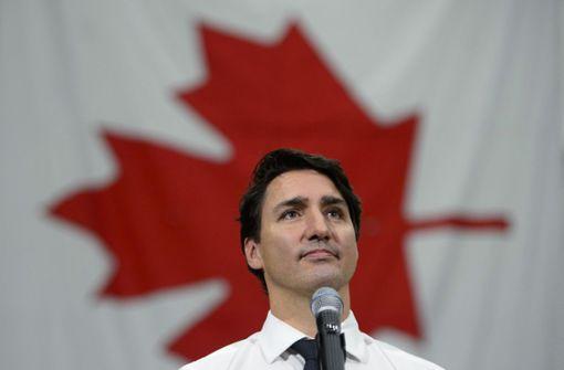 Justin Trudeau kämpft um sein politisches Überleben