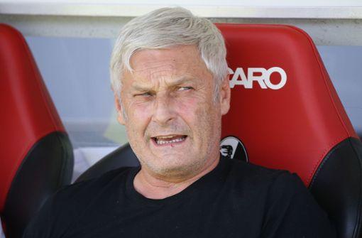 Sportchef Armin Veh verlässt Verein zum Saisonende
