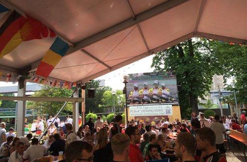 WM-Finale: Stuttgart füllt sich