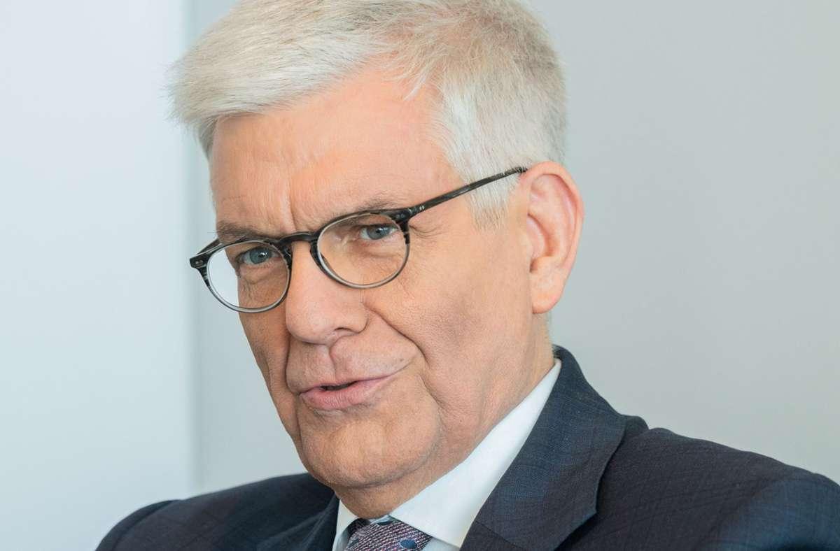 Thomas Bellut ist der Intendant des ZDF – und schaltet vorsichtshalber ein, wenn Jan Böhmermann auf Sendung geht. Foto: dpa/Andreas Arnold