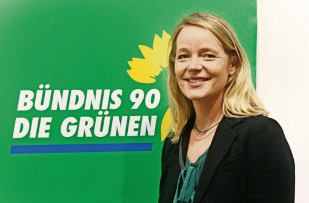 Thekla Walker lebt in Stuttgart, tritt aber in Böblingen an. Foto: factum/Granville