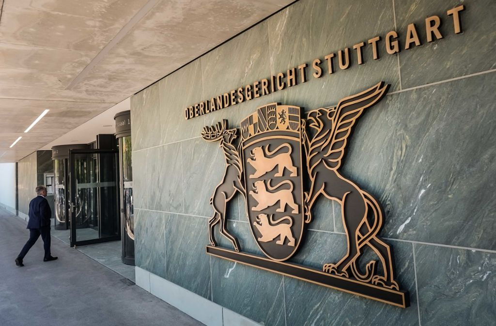 Vor dem OLG Stuttgart haben sich am Donnerstag zwei ehemalige Geschäftspartner wiedergetroffen. Foto: Lichtgut/Max Kovalenko