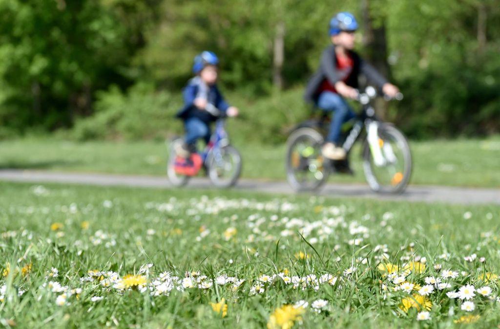 Fahrradwege sind in diesen Zeiten eine sinnvolle Investition. Foto: dpa/Caroline Seidel