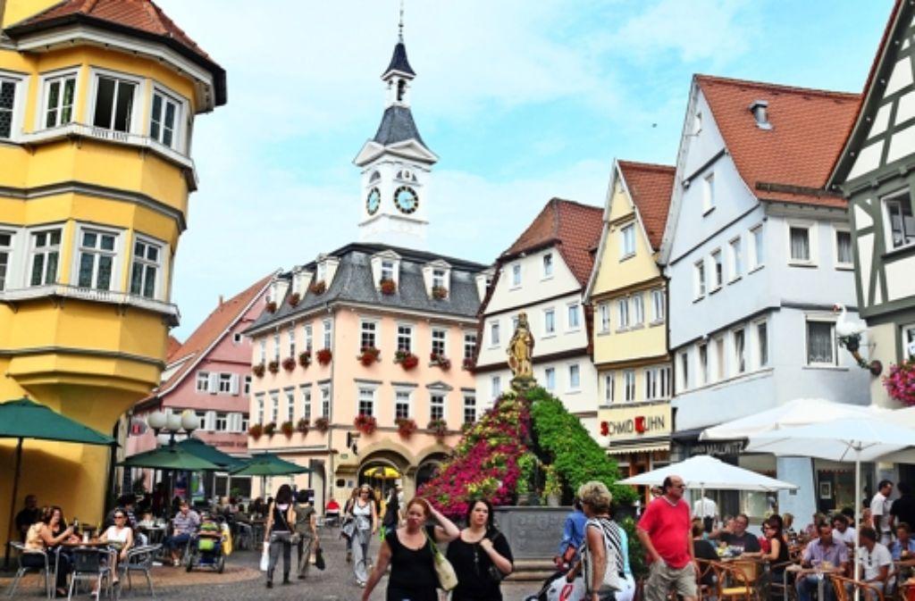 Wie studiert es sich in Aalen (Bild), Heidenheim oder Esslingen? Der StZ-Hochschulatlas gibt Antworten. Foto: dpa