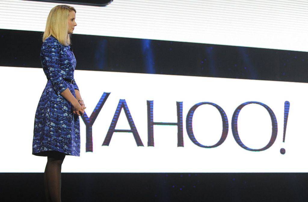 Der Internet-Pionier Yahoo und Konzernchefin Marissa Mayer wollen nach dem geplanten Verkauf des Webgeschäfts das verbliebene Unternehmen in Altaba umbenennen. Foto: dpa