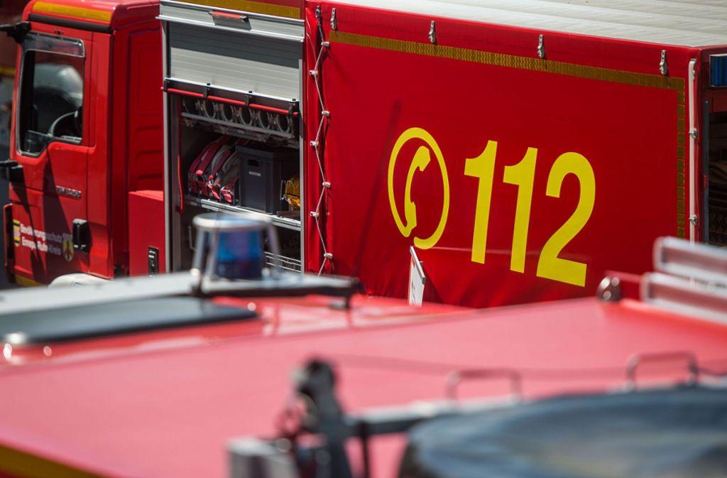 In Balingen-Engstlatt gab es einen Wohnhausbrand, bei dem ein Mann verletzt wurde. Foto: dpa