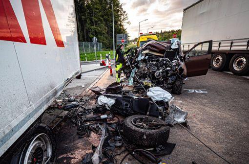 Polizei: Sattelzug hat Durchfahrt nicht blockiert