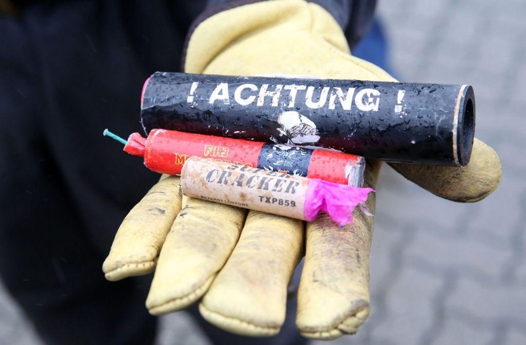 Ein Waiblinger musste wegen eines illegalen umgebauten Feuerwerkskörpers vor Gericht (Symbolbild). Foto: dpa/Bodo Marks