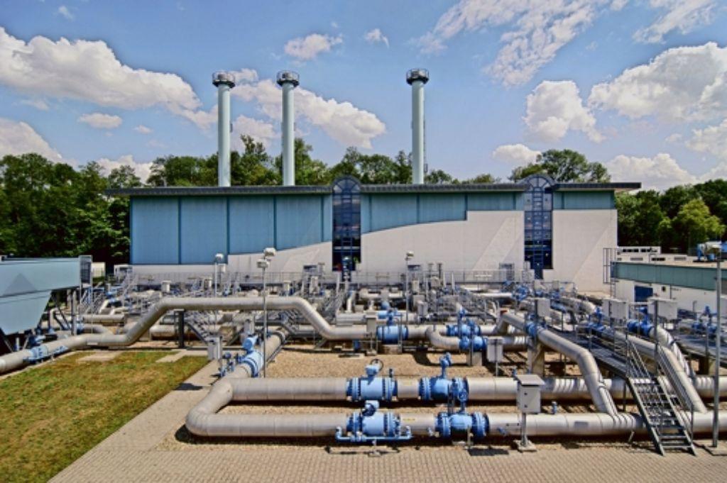 Der Betrieb von Gasnetzen gilt wegen  garantierter Renditen als sicheres Geschäft. Unser Bild zeigt eine Verdichterstation der GVS. Foto: EnBW
