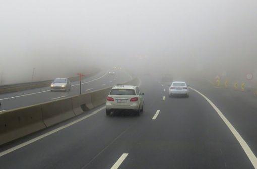 Wann darf man die Nebelschlussleuchte anschalten?