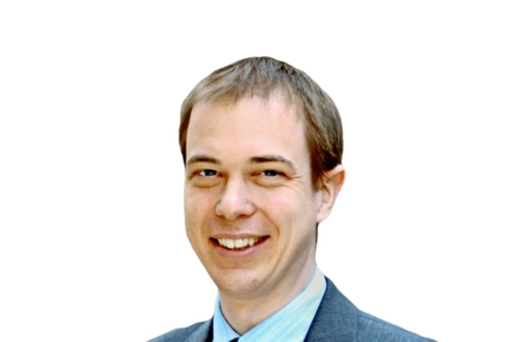 Johannes Kästner ist ein  Chemiker ohne Labor. Foto: Uni Stuttgart