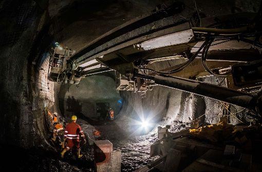 Droht wieder lautes Meißeln in den Tunneln?
