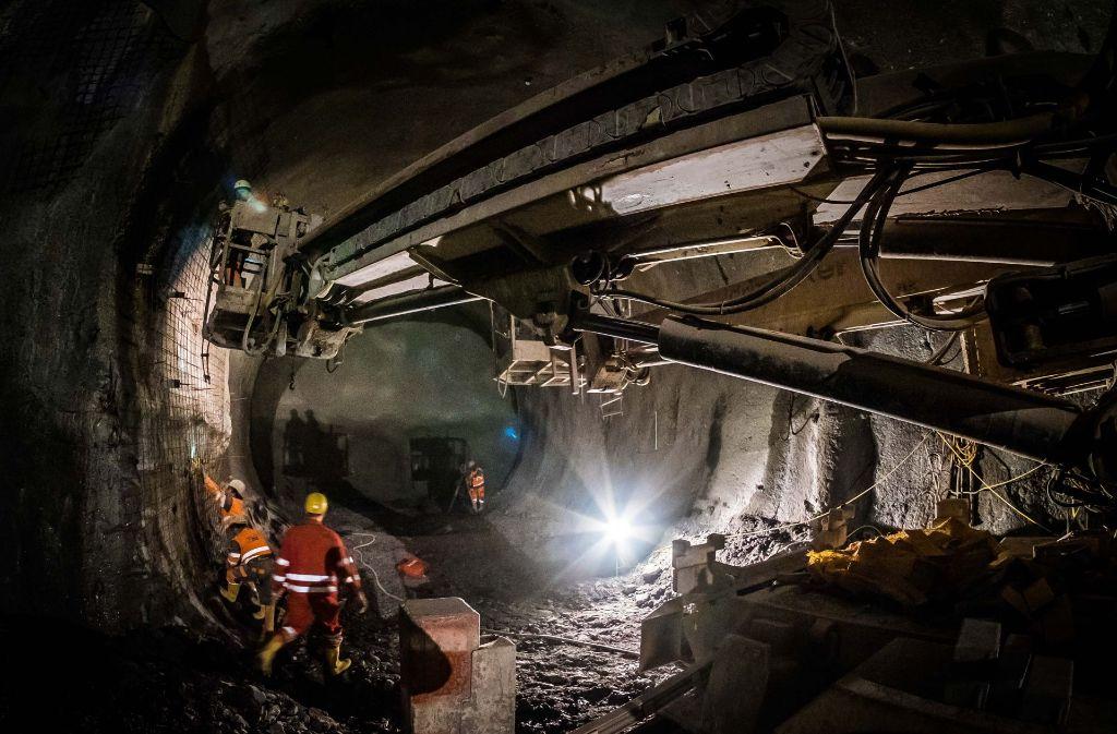 Der S-21-Tunnelbau sorgt für Belastungen in Untertürkheim Foto: Lichtgut/Max Kovalenko
