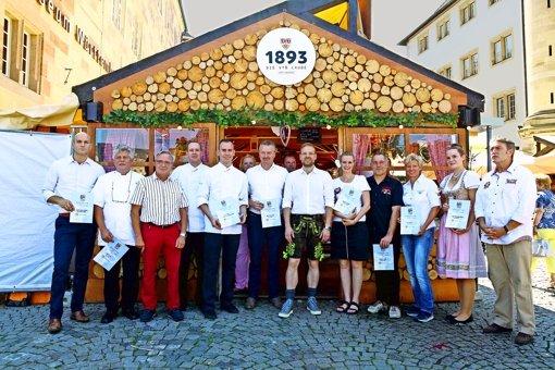Das Weindorf hat acht schönste Lauben