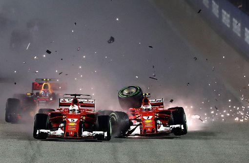 Vettel und Räikkönen scheiden in erster Runde aus