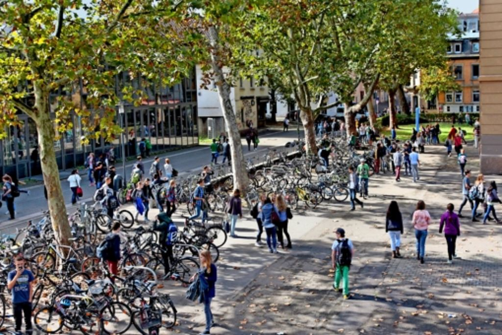 Am Innenstadt-Campus gibt es viele Schüler, aber noch  keine Sozialarbeit. Foto: factum/Granville
