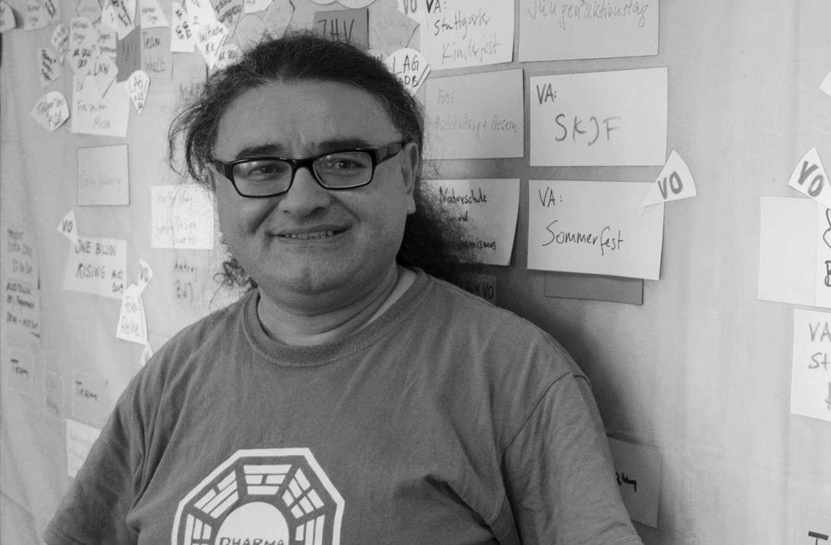 Der Grünen-Stadtrat Aytekin Celik ist  am Montag im Alter von 50 Jahren gestorben. Foto: Stadtjugendring