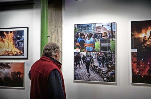 Protest-Bilder  als Protest