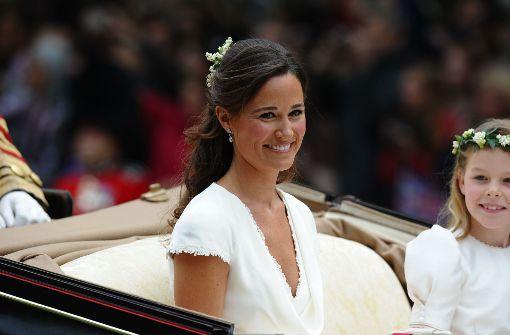 Bei der Hochzeit ihrer Schwester Kate 2011 stand Pippa Middleton ebenfalls im Rampenlicht. Foto: AFP