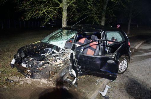 Autofahrer kommt von Straße ab und stirbt