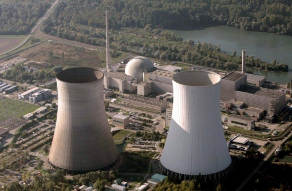 Das Kernkraftwerk Philippsburg. Foto: dpa