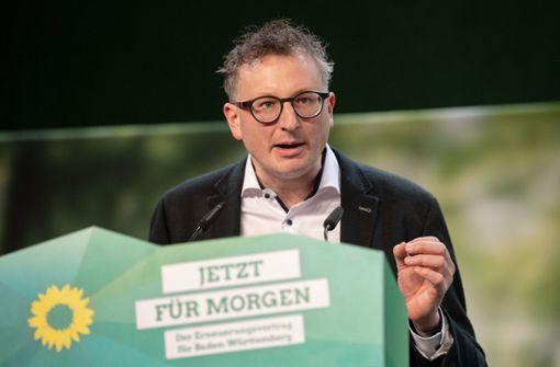 Grünen-Fraktionschef mit 100 Prozent im Amt bestätigt