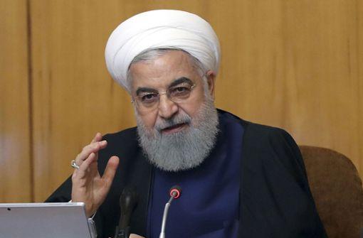 Irans Präsident: Gespräche mit Trump nur nach Ende der Sanktionen