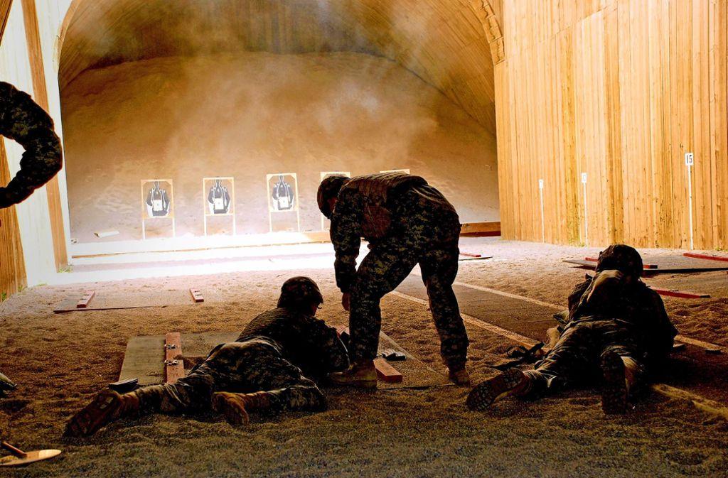 Das Schießtraining im Wald bei der Panzerkaserne ist seit vielen Jahren ein Streitthema in Böblingen. Foto: US-Army