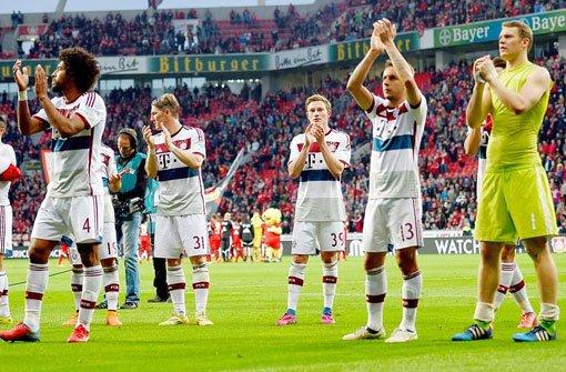 Bayern verlieren gegen Leverkusen 0:2