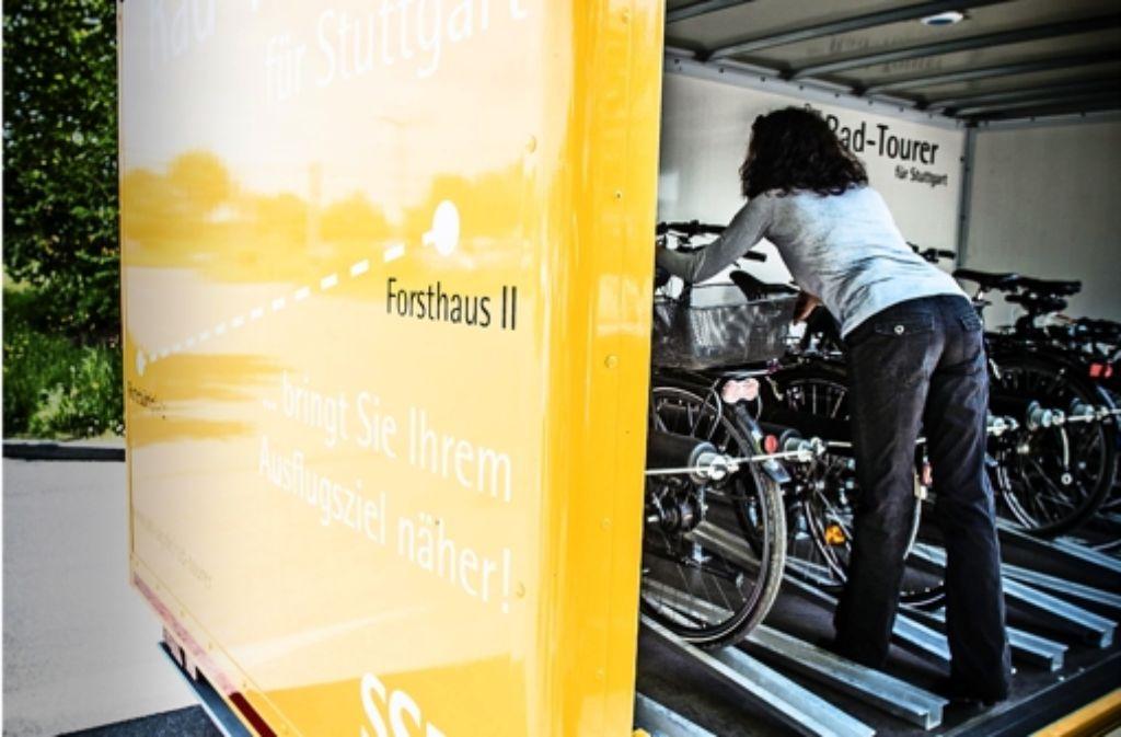 Direktlinie aus dem Kessel: der 92er-Bus  befördert Fahrräder. Foto: Lichtgut/Leif Piechowski