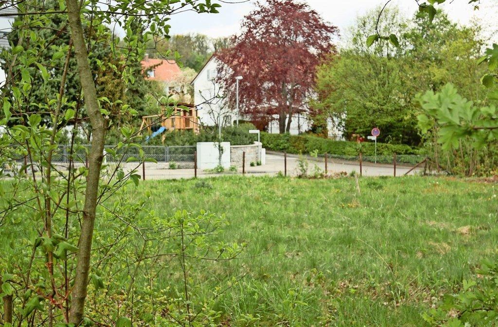 Das Grundstück in der Ludwigsburger Straße kann nun bebaut werden. Foto: factum/Granville