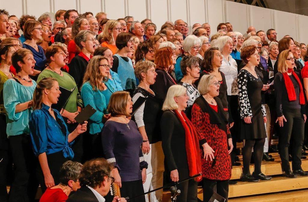 Gemeinsamer Auftritt von fünf Chören –  an diesem Samstag im Theaterhaus Foto: privat