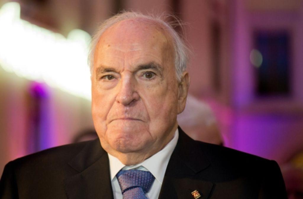 Altbundeskanzler Helmut Kohl ist nach langen Wochen in der Klinik entlassen worden. (Archivfoto) Foto: dpa