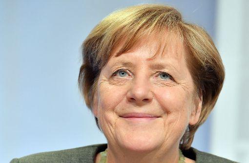 Merkel hoch drei