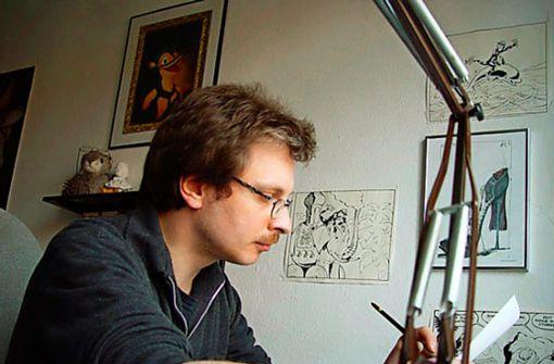 Trauer um den   Illustrator von Lurchi