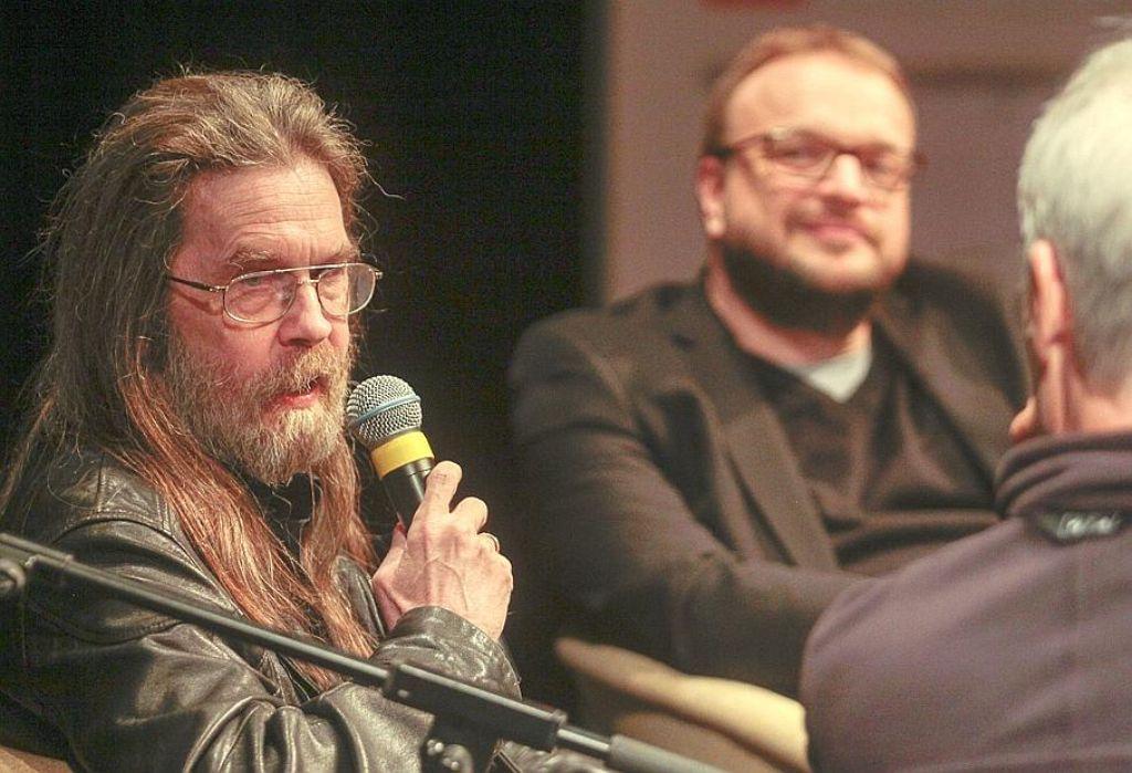 Wolfgang Hohlbein hat 44 Millionen Bücher verkauft –  in der Filmakademie erzählt er, warum er diese nur nachts schreibt. Foto: factum/Granville