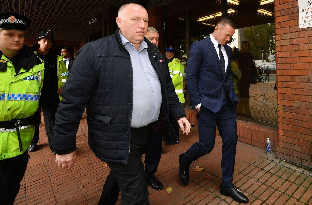 Wayne Rooney darf zwei Jahre lang kein Auto fahren. Foto: Getty Images Europe