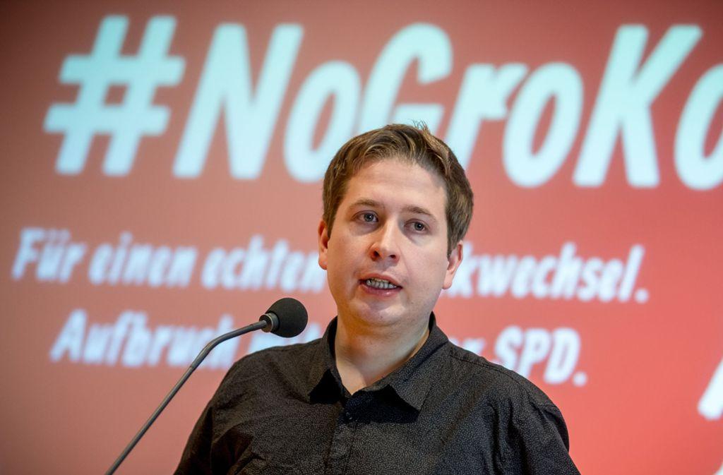Der Juso-Bundesvorsitzende Kevin Kühnert will keine Neuauflage der großen Koalition. Foto: dpa