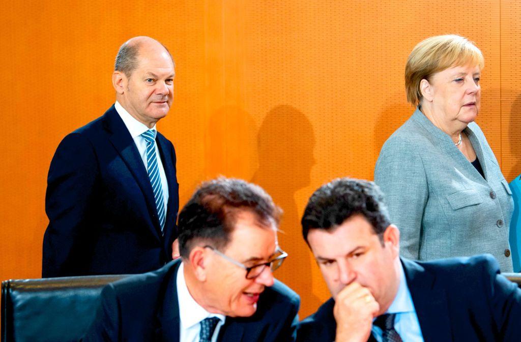 In der nächsten Sitzung des Bundeskabinetts sollen aus den bisherigen Eckpunkten zum Klimaschutz echte Gesetze gemacht werden. Foto: dpa/Bernd von Jutrczenka