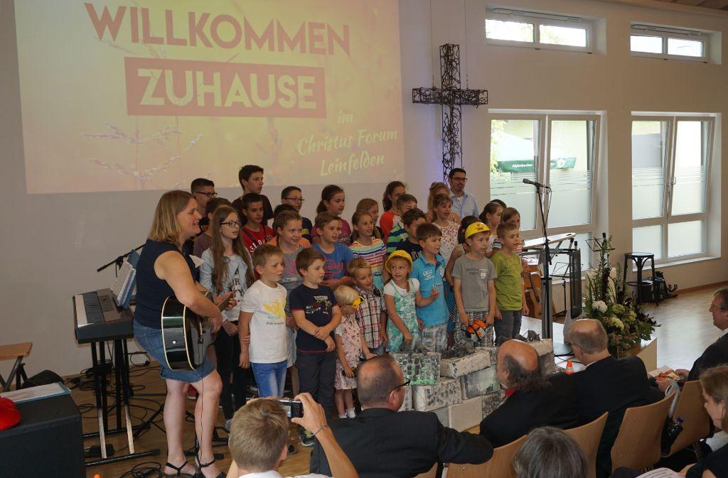 Mit Musik und Grußworten ist das Christus Forum eröffnet worden. Foto: Ursula Vollmer