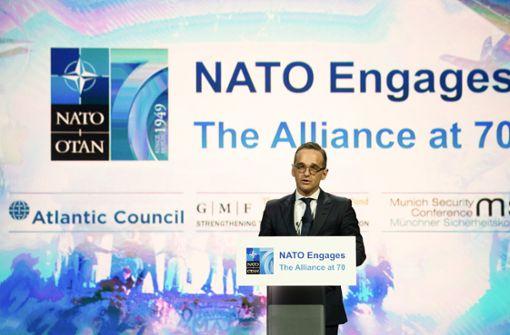 Maas weist Kritik an Verteidigungsausgaben zurück