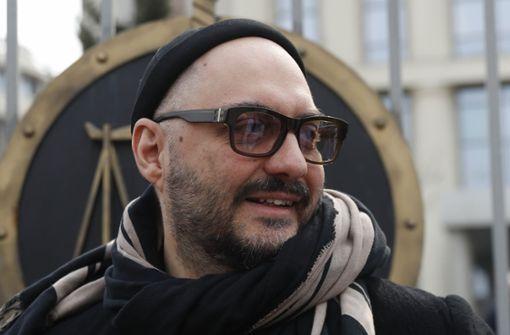 Russischer Regisseur muss sein Theater verlassen