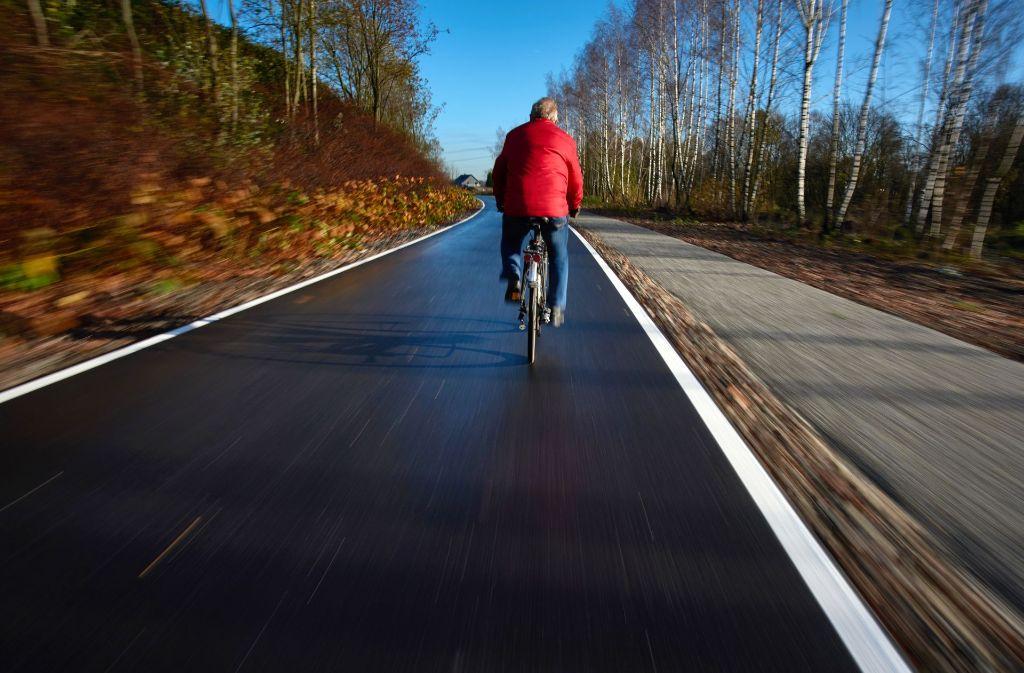 Radschnellweg im Ruhrgebiet – ein Vorbild auch für Baden-Württemberg Foto: dpa