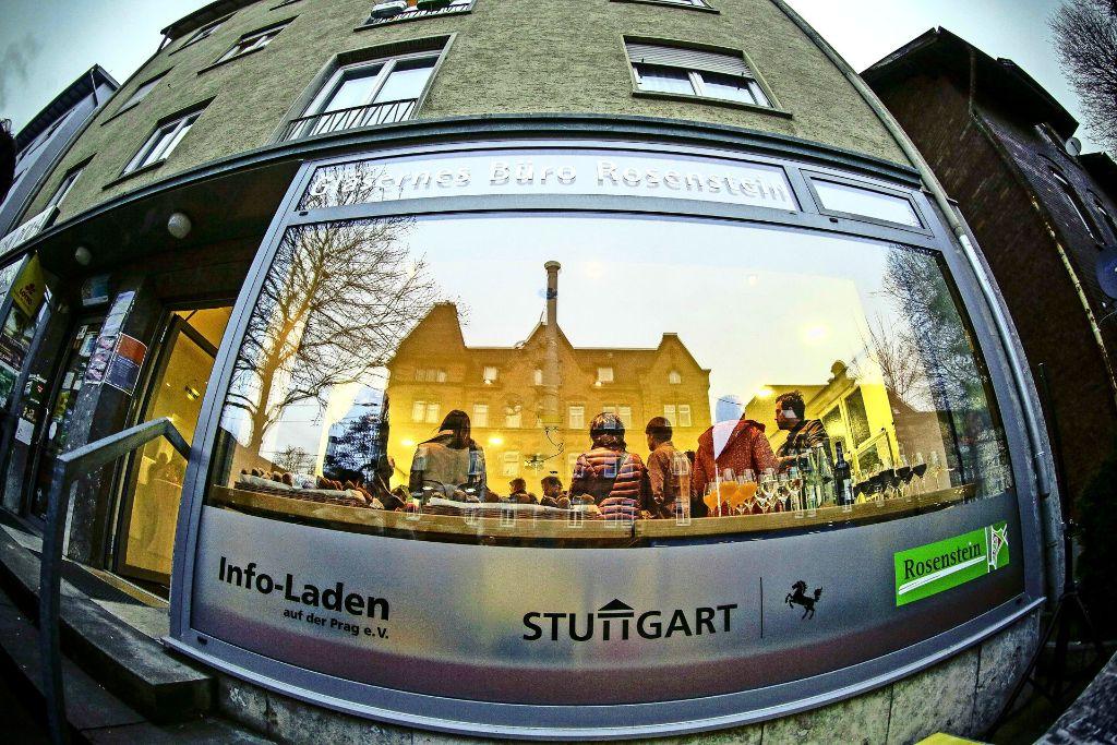 Das Gläserne Büro in der Nordbahnhofstraße. Foto: Lichtgut/Leif Piechowski