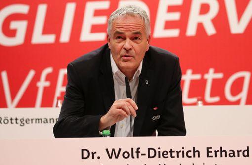 """Wolf-Dietrich Erhard: """"Ich fühlte mich beleidigt und beschimpft"""""""