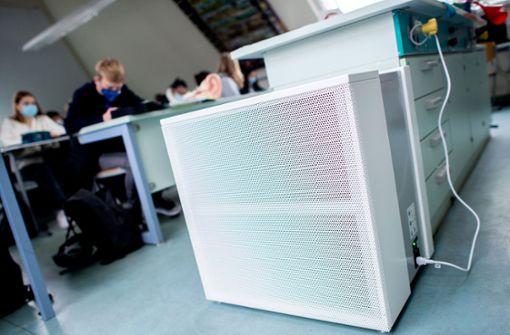 Land bietet 60 Millionen für Luftfilter an Schulen