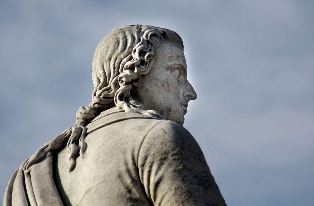Das Ludwigsburger Schiller-Denkmal Foto: factum/Weise
