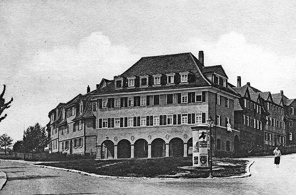 """Der """"Stammheimer Block"""" ist das erste Gebäude der BGZ, es steht heute noch. Gebaut wurde es 1920/1921. Foto: privat"""