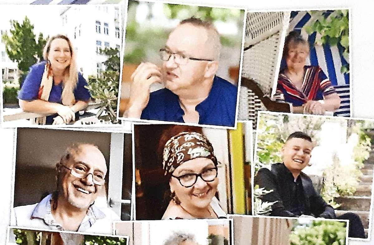 """Zwölf Bürgerinnen und Bürger Untertürkheims  erzählen  in der Ausstellung vom Leben in ihrem """"Flecken"""". Foto: Ars Narrandi/Sabine Schreiber"""