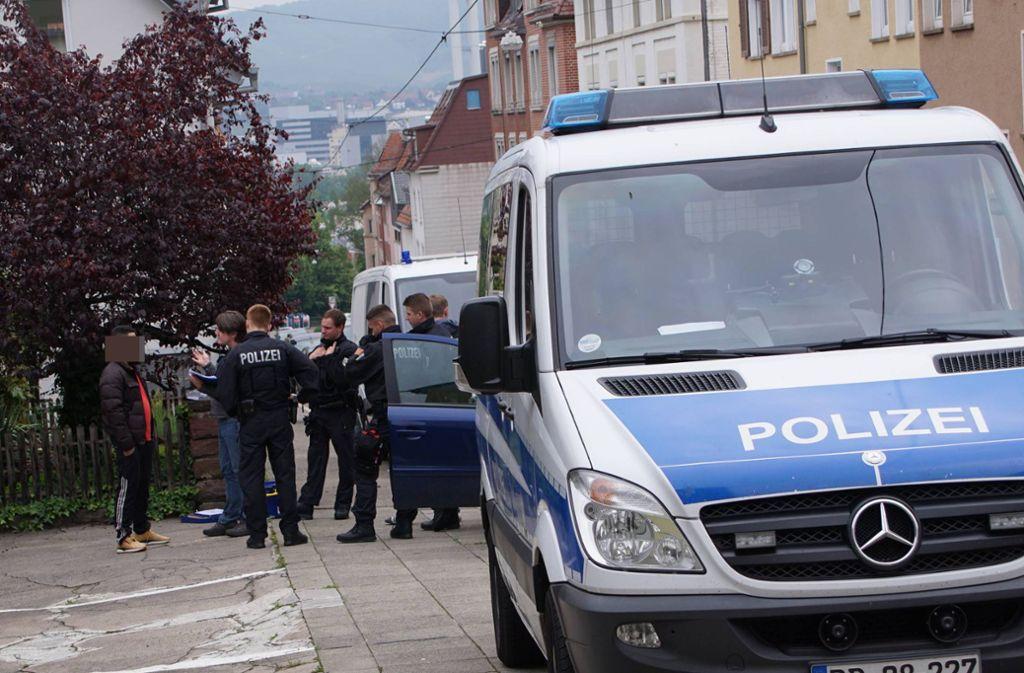 Schurwaldstraße in Stuttgart-Ost: Einer der Einsatzorte gegen Schleuserkriminalität. Foto: 7aktuell.de/Andreas Werner